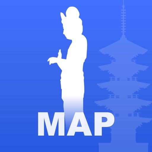 西国三十三観音霊場マップ