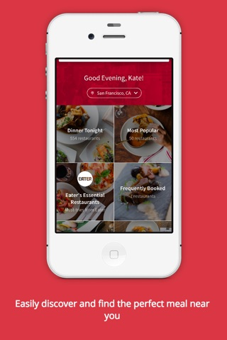OpenTable screenshot 3