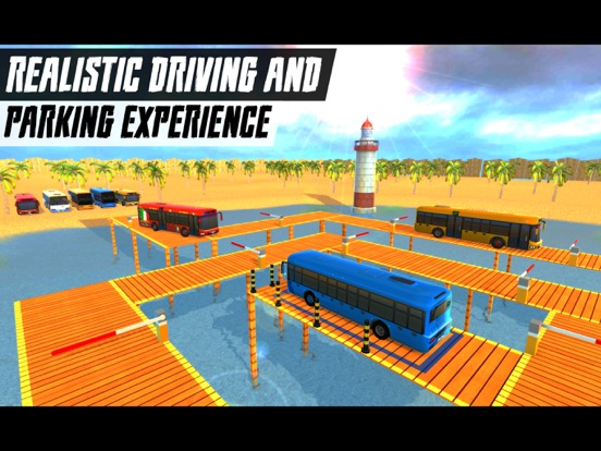 Real Coach Bus Parking 2018 Скриншоты6