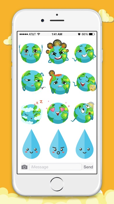 Animated Weather Stickers! screenshot 2