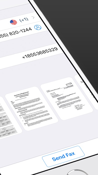 iFax - Send Fax from iPhone Screenshot 2