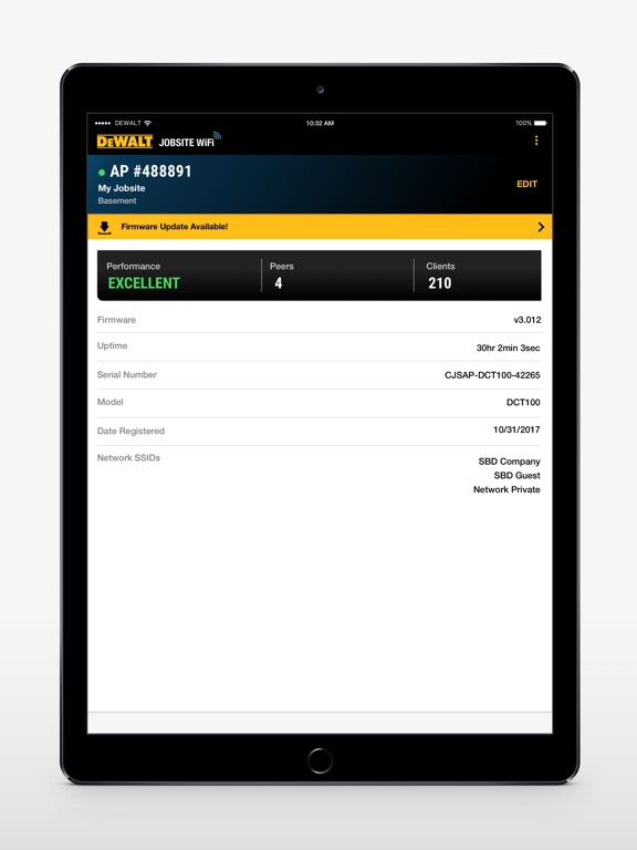 DEWALT WiFi on the App Store