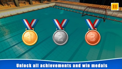 Water Polo Swimming Sports 3D screenshot 4