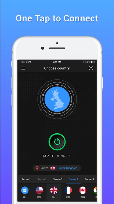 VPN for iPhone – Proxy Server screenshot 2