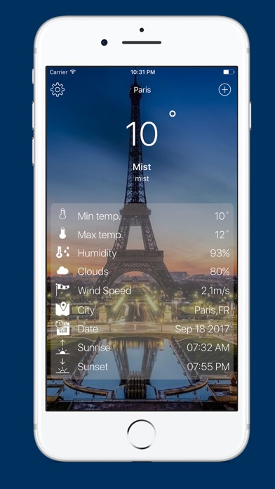 Weatheroit screenshot 2