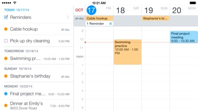 Screenshot #5 for Fantastical 2 for iPhone - Calendar and Reminders