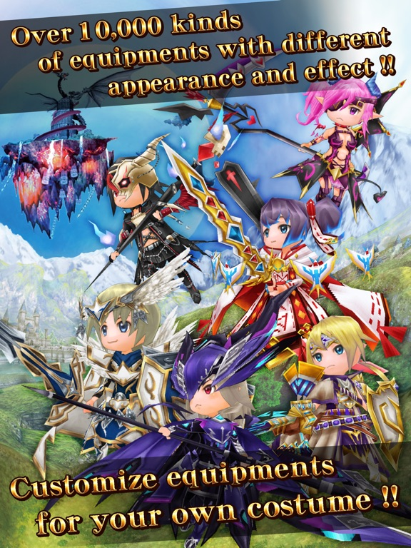 Elemental Knights Online Скриншоты8