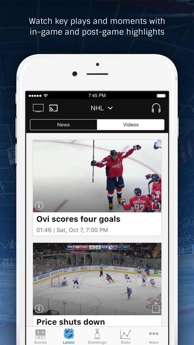 NHL Screenshots