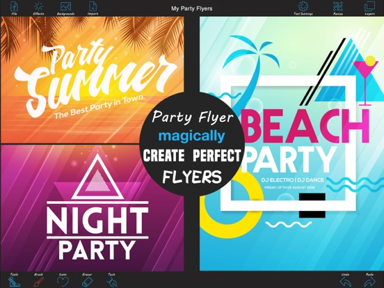 party flyer maker free