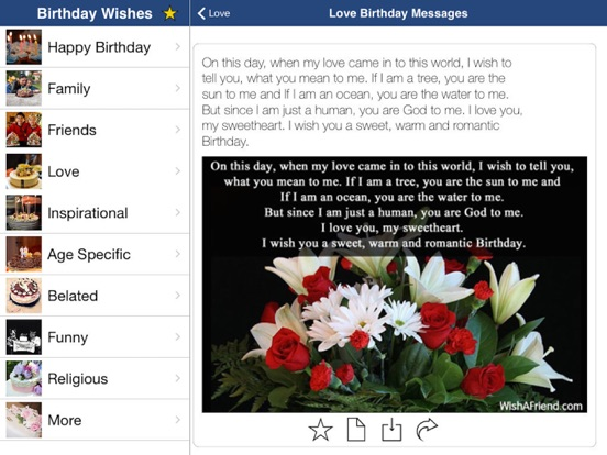 Birthday Cards And Greetings on the App Store – Birthday Cards for Ipad