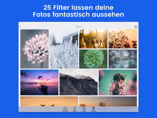 Foto Scanner & Fotobearbeitung Screenshot