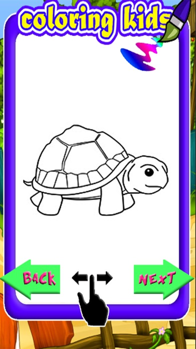 Turtle Coloring Book Games Education On The App Store