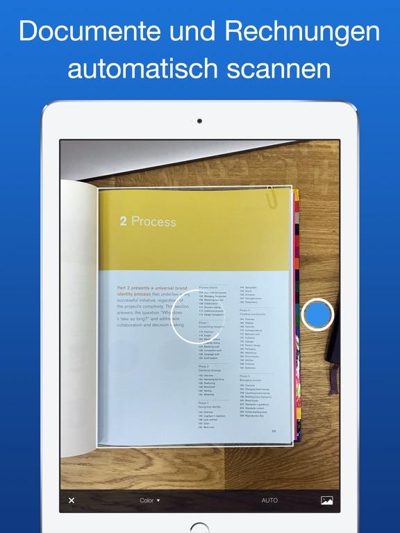 Scanner Pro von Readdle Screenshot