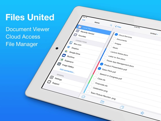 Files United File Manager Screenshots