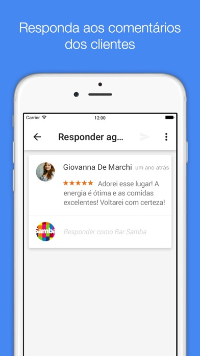 Captura de tela do iPhone 3
