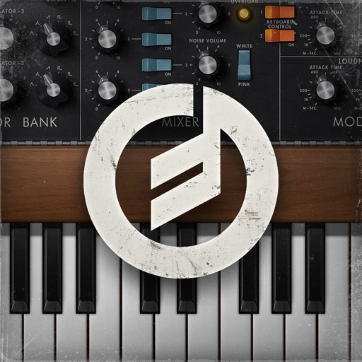 Minimoog Model D app for ipad