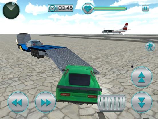 Airplane Robot Car Transporter screenshot 8