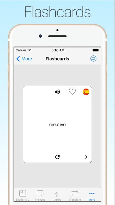 Screenshot #10 for Spanish Dictionary & Translator +