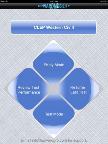 CLEP Western Civ II Exam Prep screenshot 1
