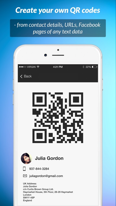 QR Scanner: instant scan Screenshots