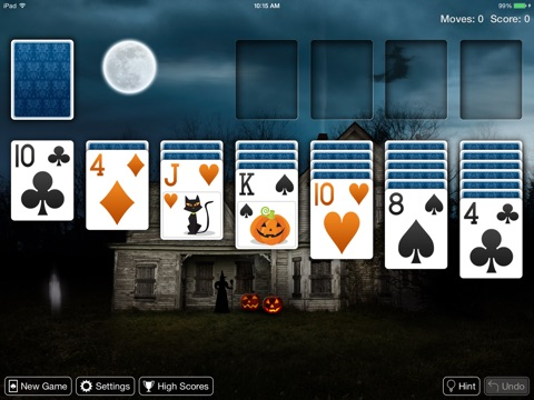 Real Solitaire Pro for iPad screenshot 1