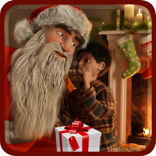 Christmas Santa gift runner 3D