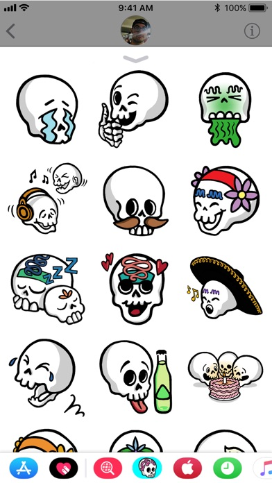 Sugar Skull Stickers Vol1 review screenshots
