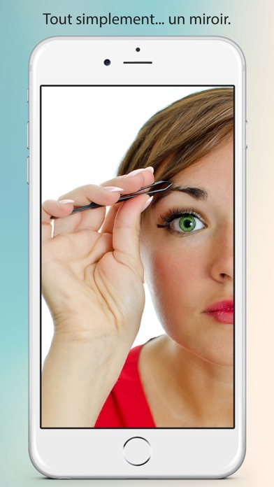 Un vrai miroir dans l app store for Application miroir iphone