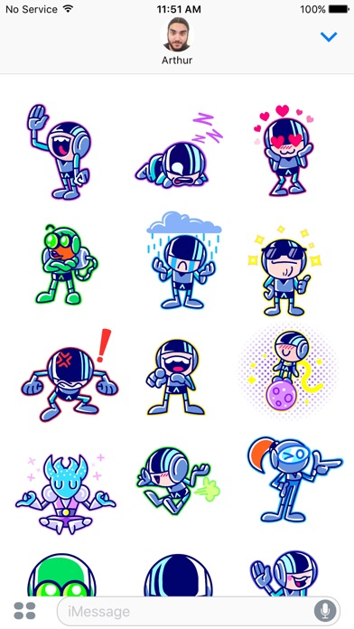 download Iron Marines Stickers appstore review
