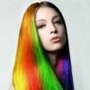 Hair Color Dye - Switch Hairstyle, Face Pic Makeup