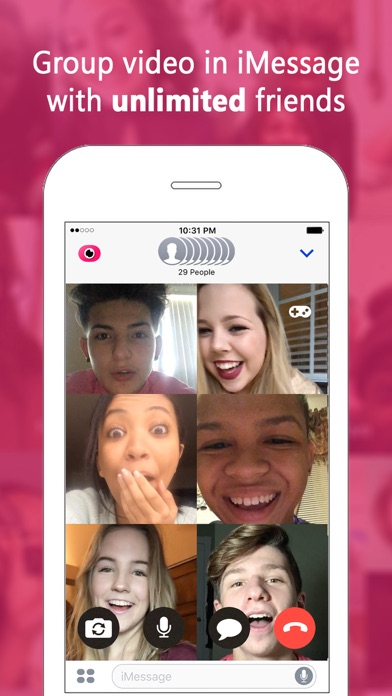 download Fam: Group video for iMessage apps 1