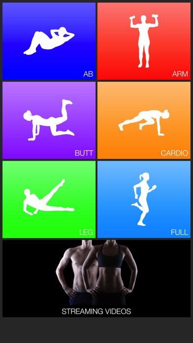 Daily Workouts Lite screenshot
