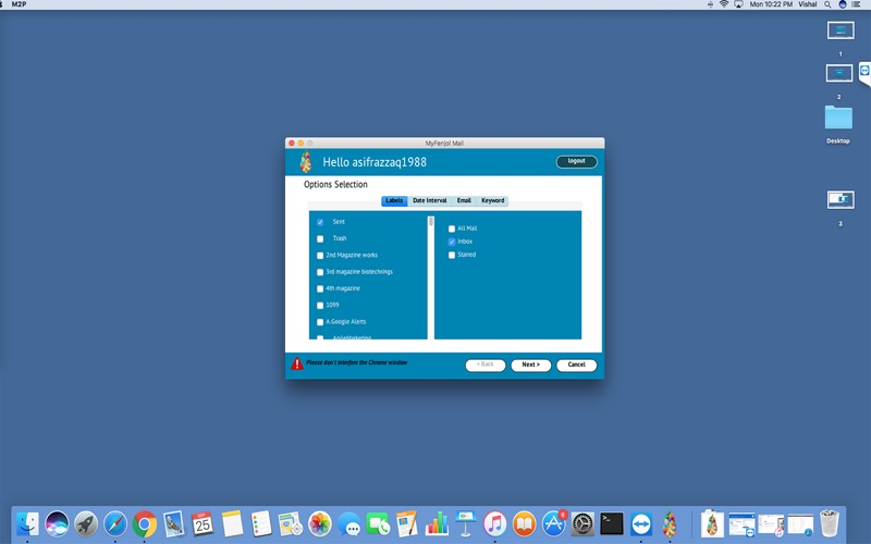 MyFenjol Mail for Mac