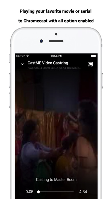 castME TV for Chromecast screenshot 4