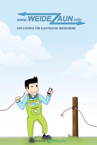 www.weidezaun.info Weide- und Elektrozaun Experte screenshot 1