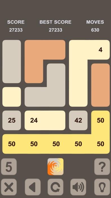 Blocks Numbers Puzzle Скриншоты4