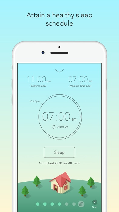 Sleep Town Review Article Screenshot App Sleeping Gamification