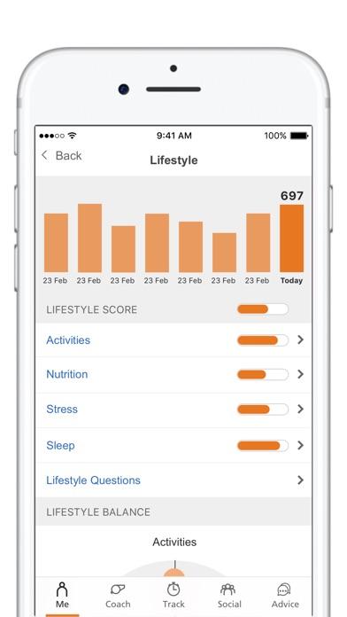Optum My Wellbeing Скриншоты3