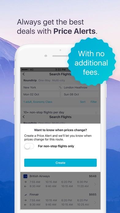 Skyscanner Flights Hotels Cars iPhone