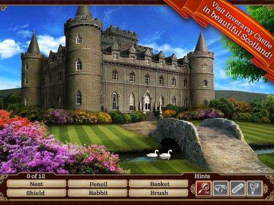 Screenshots of Hidden Objects: Gardens of Time for iPad
