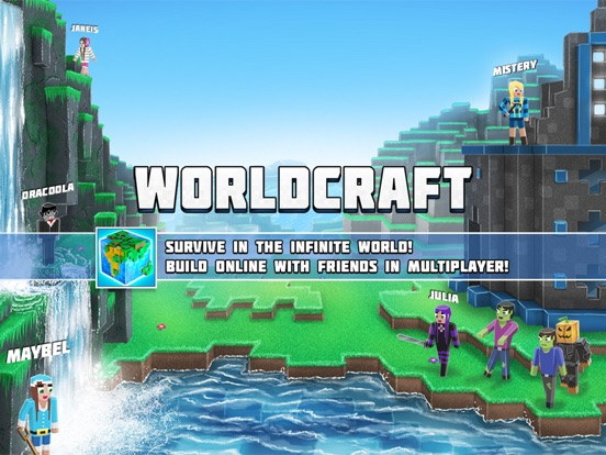 WorldCraft: 3D Build & Craft For iOS Drops To Free For First Time Ever