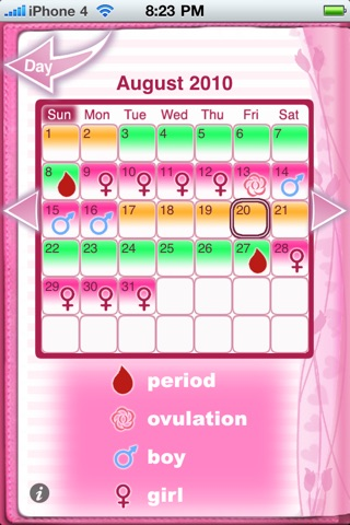 Maybe Baby™ Period & Fertility screenshot 1