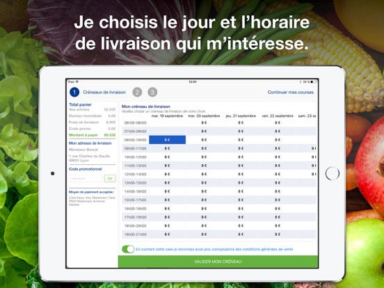 liste de courses application iphone