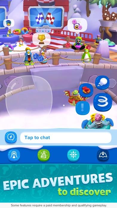 Club Penguin Island iPhone