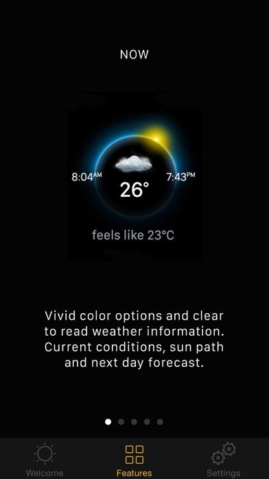 Blue Sky Weather Screenshot