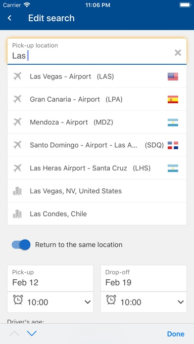 Screenshot of CARNGO.com - Car Rental APP4