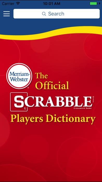 SCRABBLE Dictionary Screenshot