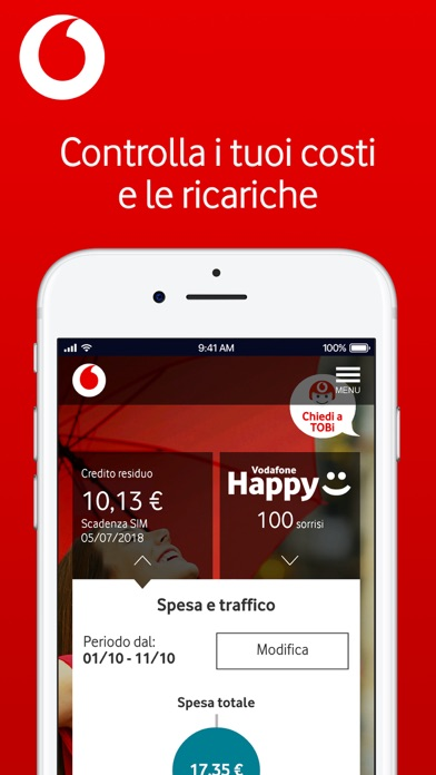 My vodafone italia sull 39 app store for Iphone x 3 italia