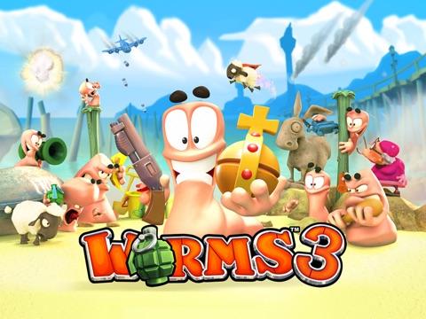 Worms3 на iPad