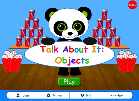 Talk About It: Objects Pro HD screenshot 1